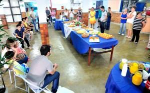 01 Professores da EBD se reúnem para o café da manhã na PIB de Campo Grande
