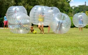 Bubble Soccer: uma brincadeira que queima as calorias como nenhuma outra!