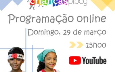 Programação online para as crianças