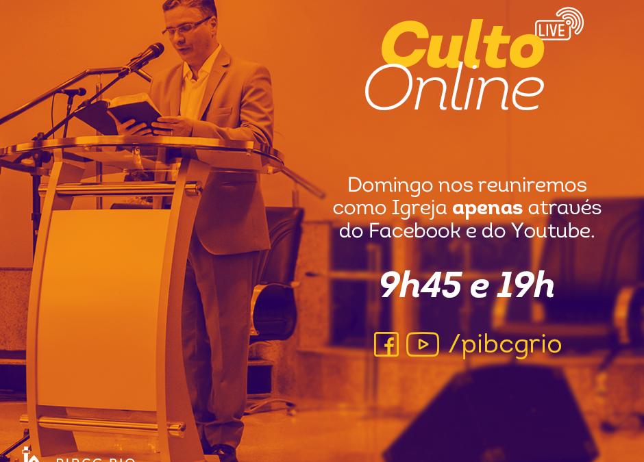 Culto Online – 2020